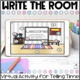 Telling Time Virtual Write the Room