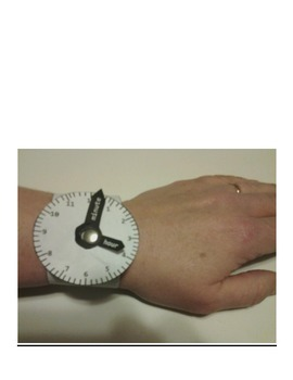 Telling Time Watch craft