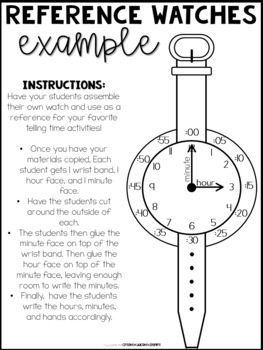 Telling Time: Watches