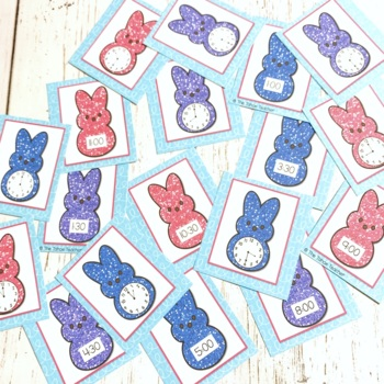 Telling Time With My Peeps | A Spring Time Center