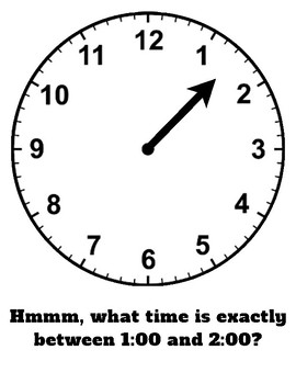 Telling Time With One Handed Clocks: Hour Hand Clock Activity and Puzzles