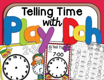 Telling Time With Play Doh
