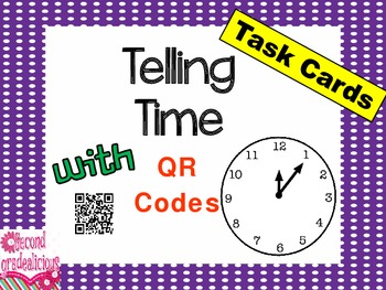 Telling Time with QR Codes