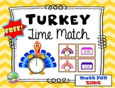 Telling Time With Turkeys (Time to Hour)