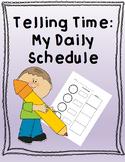 Telling Time Worksheet