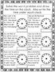 Telling Time Worksheets Set #3