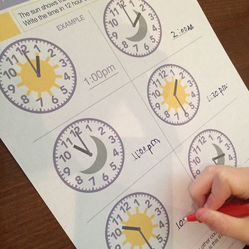 Telling Time | Worksheets/Printables | Hour, Half and Quarters Clock Faces