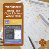 Telling Time | Worksheets/Printables | Telling the Time wi