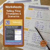 Time Word Problems and Timetables