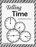 Telling Time-Write it & Cut & Paste! No Prep
