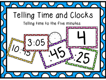 Telling Time and Clocks