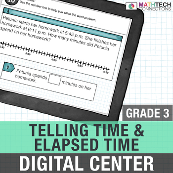 Telling Time and Elapsed Time - Interactive Digital Math Center