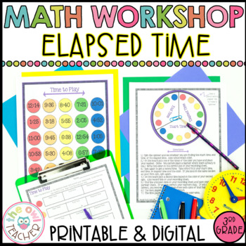 Math Workshop Elapsed Time Unit