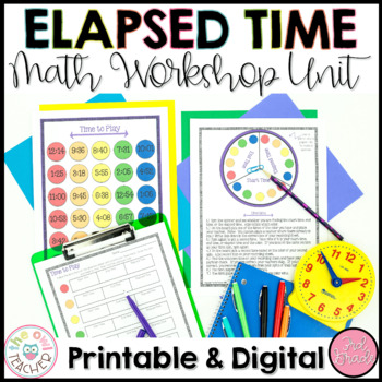 Elapsed Time Worksheets | Lesson Plans | Activities | Guided Math Workshop