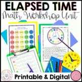 Elapsed Time Worksheets   Lesson Plans   Activities   Guided Math Workshop