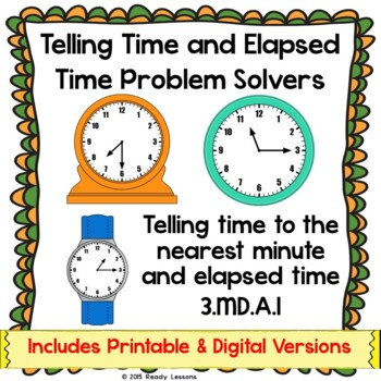 3rd Grade Telling Time To The Minute Worksheets Elapsed Time