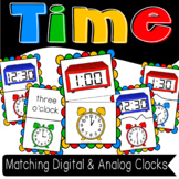 Telling Time and Matching Clock Puzzles