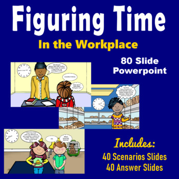 Telling Time at Work PowerPoint