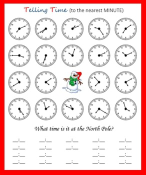 Telling Time at the North Pole