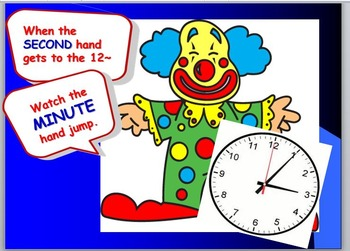 Telling Time by the Half Hour