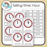 Telling Time Cards - Hour