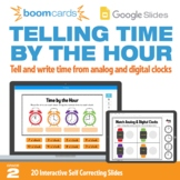 Telling Time by the Hour | Interactive Boom Cards™ and Goo