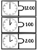 Telling Time by the Hour - Puzzle Matching