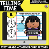 Telling Time for Google Classroom