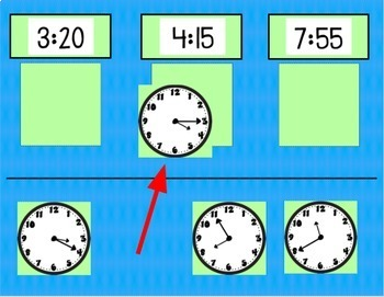 Google Classroom Math Telling Time Paperless Activities