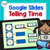 Google Classroom Distance Learning Math TELLING TIME : 1st