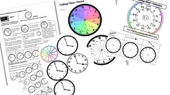 Telling Time for Intermediate Grades