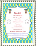 Telling Time for Primary Grades