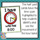 Telling Time - half hour & hour - 'I Have - Who Has' activity