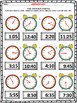 Telling Time in Five Minute Intervals Quick Checks
