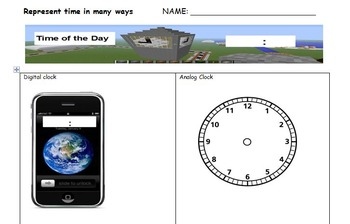Telling Time in Many Ways: Number of the Day for Time