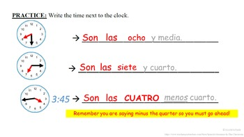 Telling Time in Spanish (Basic Intro and Vocab Phrases): Spanish Quick Lesson