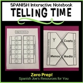 Telling Time in Spanish Interactive Notebook