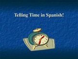 Telling Time in Spanish! (Que Hora Es?)