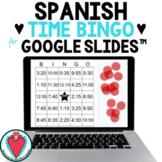 Telling Time in Spanish - Spanish Digital Bingo Game for G