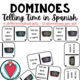 Telling Time in Spanish - Spanish Dominoes - La Hora