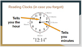 Telling Time in Spanish (clocks included)