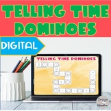 Digital Telling Time Dominoes l Distance Learning