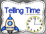 Telling Time (nearest minute) Powerpoint & Guided Notes