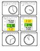 Telling Time on Digital & Analog Clocks SCOOT Activity