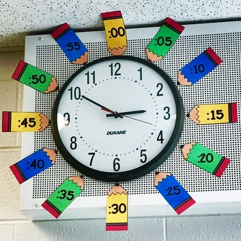 Telling Time on an Analog clock Help!