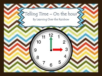 Telling Time - on the Hour