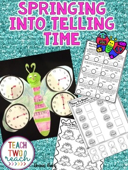 Telling Time Unit - Interactive, centers, CRAFTIVITY