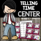 Telling Time to 5 Minutes Math Station