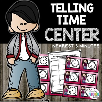 Telling Time to 5 Minutes