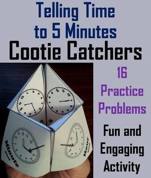 Telling Time to 5 Minutes Game